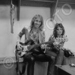Francis & Hella, Scorpions, USA Tour, AugSept '82, © 1982 Robert EllisRepfoto