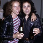 Klaus Meine of Scorpions was always getting mistaken for Ronnie James Dio. Cannot THINK why!